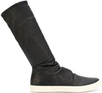 Rick Owens Sock Sneak boots $1,638 thestylecure.com