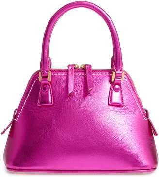 Maison Margiela Mini 5AC Metallic Leather Handbag