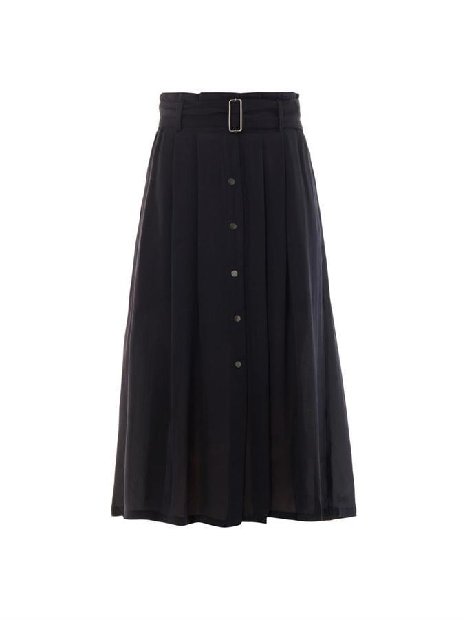A.L.C. McDermott pleated crepe skirt