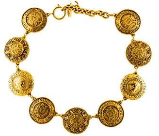 Chanel CC Medallion Necklace