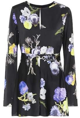 Acne Studios Bahari floral-printed top