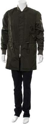Kris Van Assche Longline Bomber Jacket