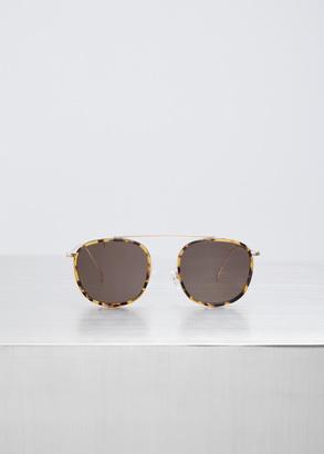 Illesteva tortoise / gold / grey mykonos ace $220 thestylecure.com