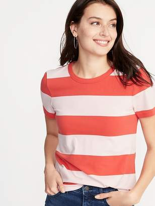 Old Navy Slim-Fit Striped Tee for Women