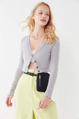 Out From Under Lola Cropped Lettuce-Edge Cardigan
