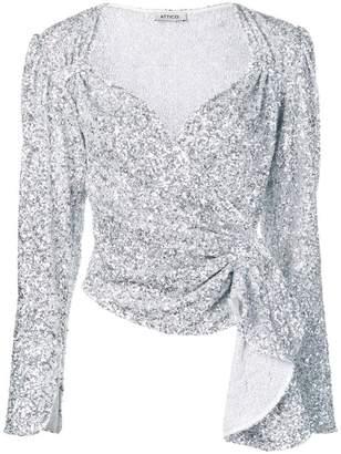 e22938be25e68 Silver Sequin Top - ShopStyle Canada