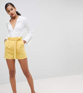 Fashion Union Tall High Waist Shorts Two-Piece