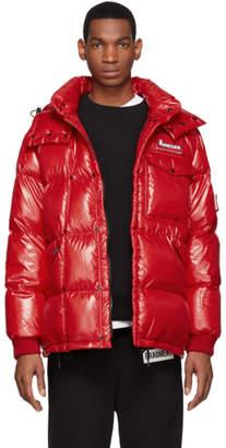 Moncler Genius 7 Fragment Hiroshi Fujiwara Red Anthem Jacket