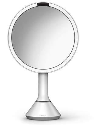 "Simplehuman 8"" Sensor Makeup Mirror with Brightness Control, White"