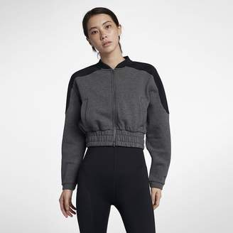 Nike Dri-FIT Women's Full-Zip Training Bomber Jacket
