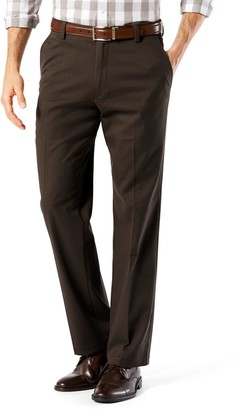 Dockers Men's Stretch Easy Khaki D2 Straight-Fit Flat-Front Pants