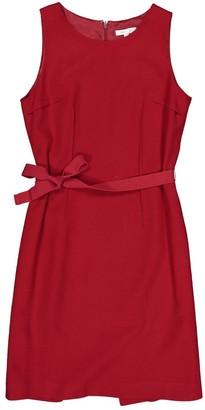 Paule Ka Red Wool Dresses