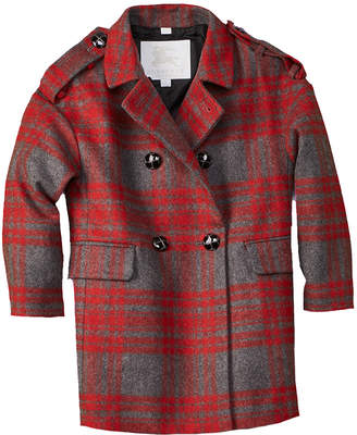 Burberry Agnella Wool-Blend Coat