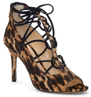 Vince Camuto Chennan Lace-Up Open Toe Pump