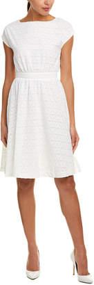 J.o.a. Tie-Waist A-Line Dress