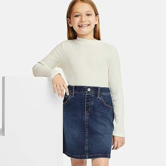 Uniqlo Girl's Denim Skirt