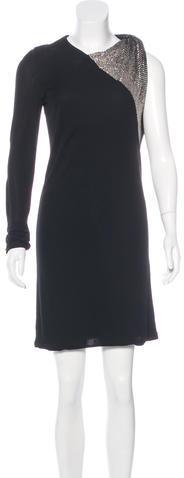 GucciGucci Embellished One-Shoulder Dress