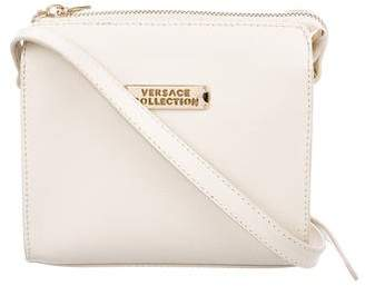 Versace Leather Crossbody Bag