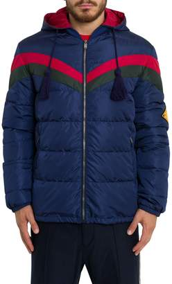 Gucci Down Jacket With Detachable Hood