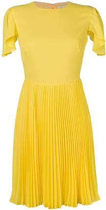 Mulberry pleated skirt dress
