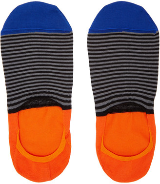 Paul Smith Multicolor Stripe Loafer Socks $20 thestylecure.com