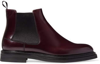 Church's Patsy Glossed-leather Chelsea Boots - Merlot
