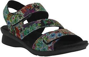 Spring Step Adjustable Leather Sandals - Nadezh