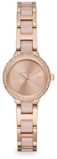 Michael Kors Taryn Rose Goldtone Bracelet Watch
