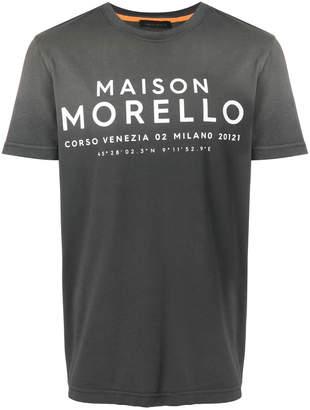 Frankie Morello coordinates logo T-shirt