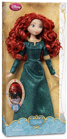 Disney Classic Princess Merida Doll - 12''