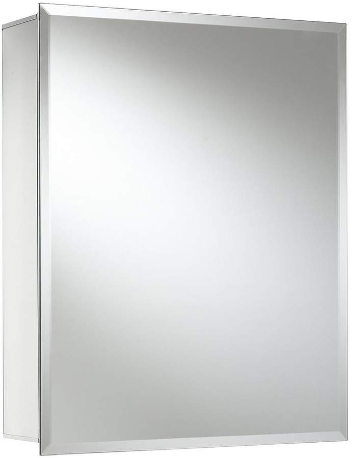 Winster Single Door Ready Assembled Mirrored Cabinet