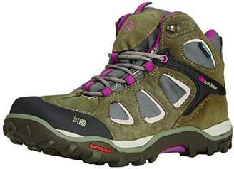 Karrimor Toledo Weathertite, Women's High Rise Hiking Shoes, Grey (Grey/Purple), 7 UK (41 EU)