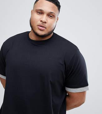Jacamo Longline T-Shirt With Sleeve And Hem Extender
