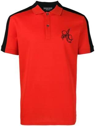 Alexander McQueen short sleeved polo shirt