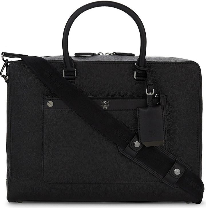 MCMMCM Markus medium leather briefcase