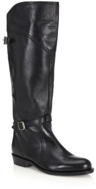 Dorado Leather Riding Boots $458 thestylecure.com