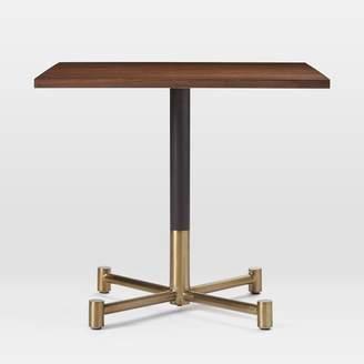 west elm Dark Walnut Square Bistro Table