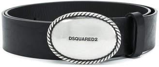 DSQUARED2 embossed buckle belt