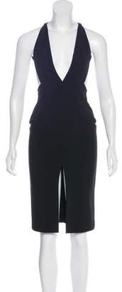SOLACE London Sleeveless Midi Dress