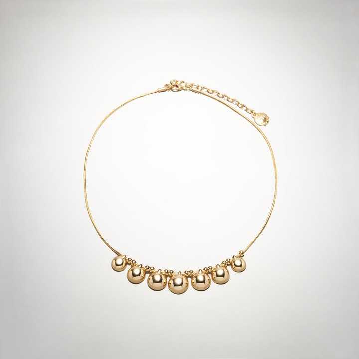 Jones New York Gold-Tone Collar Necklace