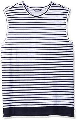 ROBUST Men's Round Neck Sleeveless Printed Vest (Size-)