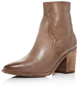 3463b9f66c0 Frye Women's Flynn Leather Western Block-Heel Booties