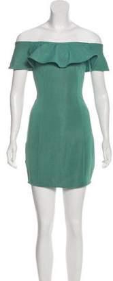 Capulet Off-The-Shoulder Mini Dress w/ Tags
