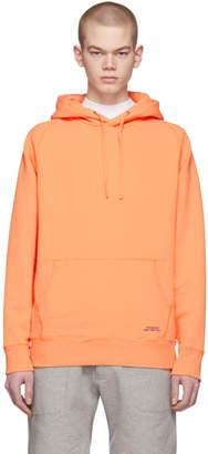 Saturdays NYC Orange Ditch Hoodie