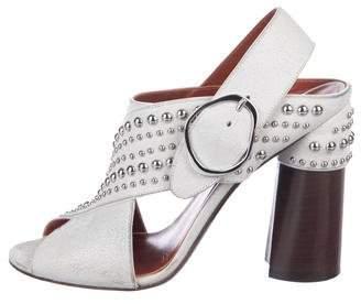 3.1 Phillip Lim Studded Crossover Sandals