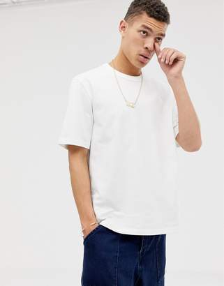 Asos loose fit heavyweight t-shirt in white
