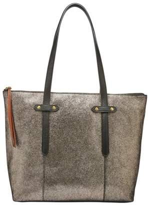 Fossil Felicity Tote Handbag Pewter