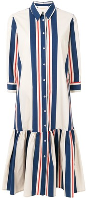La DoubleJ dropped waist shirt dress