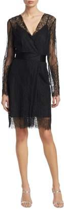 Diane von Furstenberg Women's Lace-Overlay Dress
