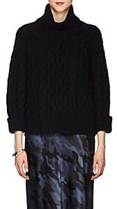 Nili Lotan Women's Gigi Cable-Knit Cashmere Sweater - Dark Navy